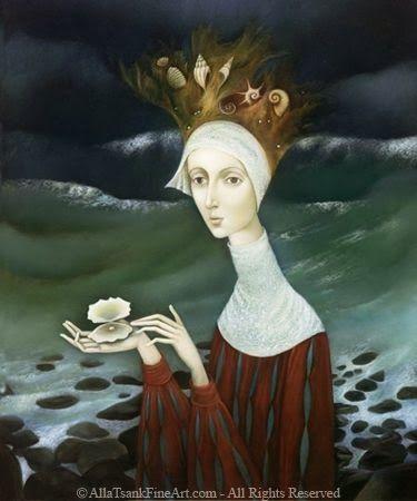 Russian Artist Alla Tsank