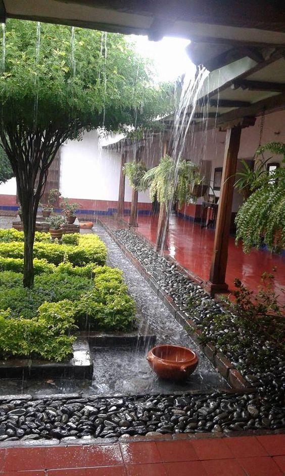 Love The Idea Of Permanent Waterways For Rain Runoff