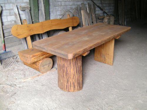Gartenbank Massiv Gebraucht Ebay | Holz Gartenbank | Pinterest