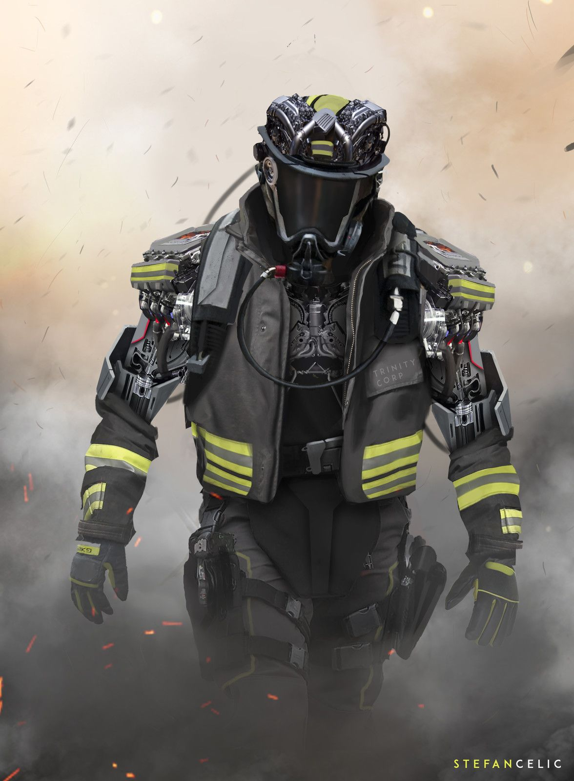Pin By Daryl Davis On Sci Fi Inspirations Firefighter