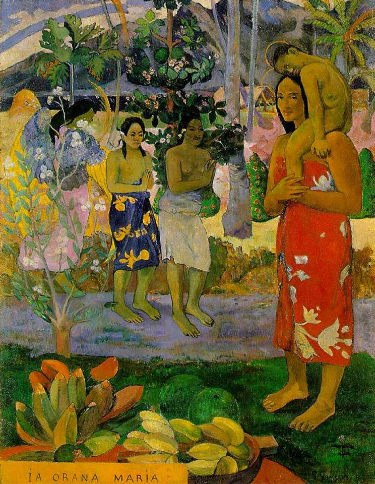 Gauguin by Paul Gauguin Giclee Fine Art Print Repro on Canvas Good Day Mr