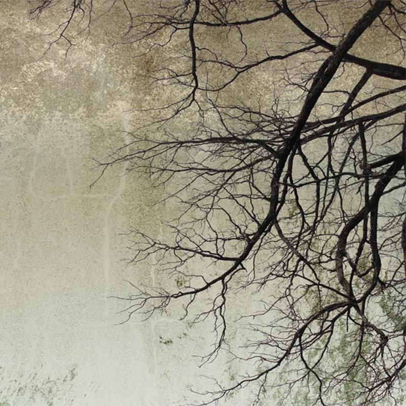 Nordic Style Tree Branches Mural Wallpaper (㎡) en 2020
