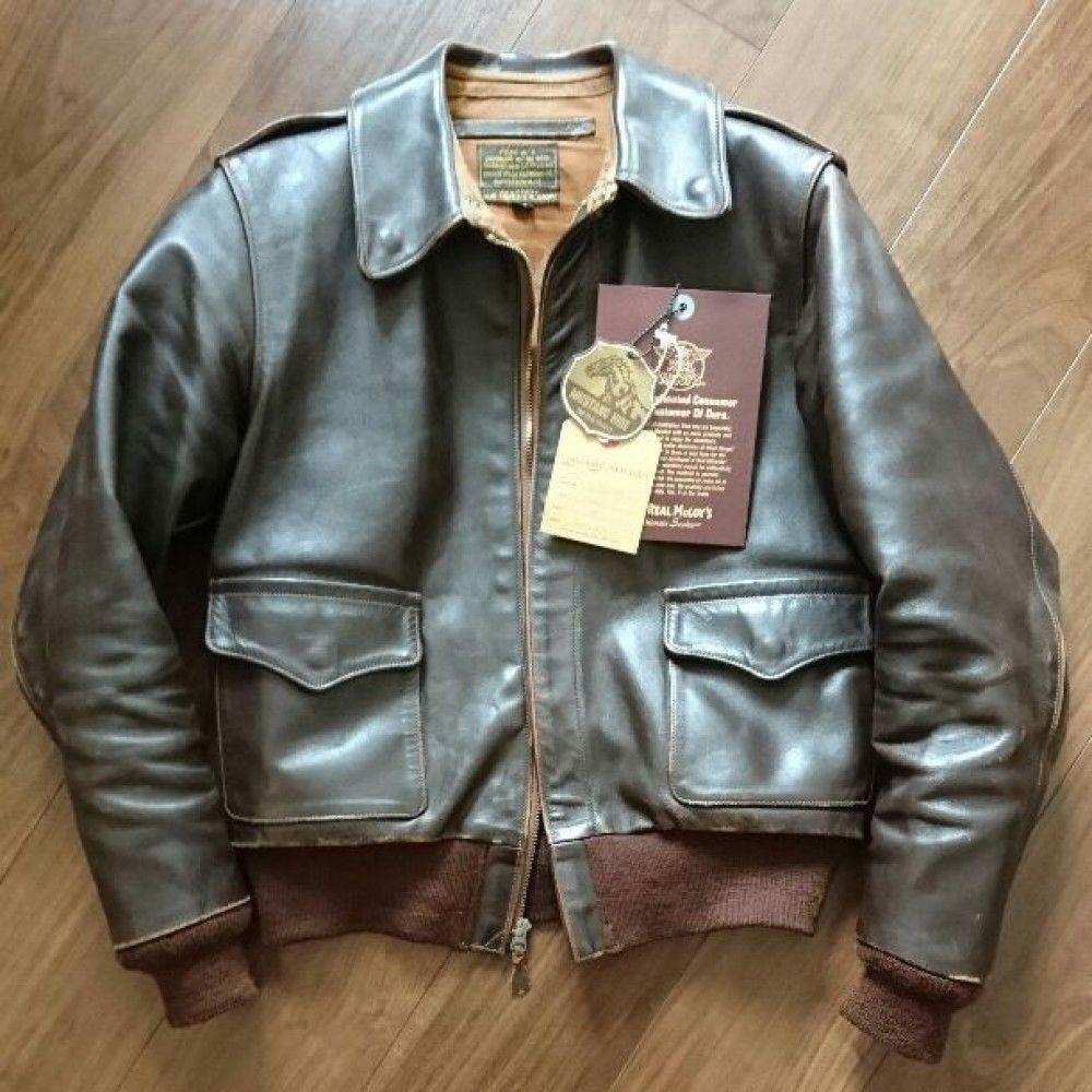 The Real Mccoy S Japan Jackets Men Fashion Leather Jacket