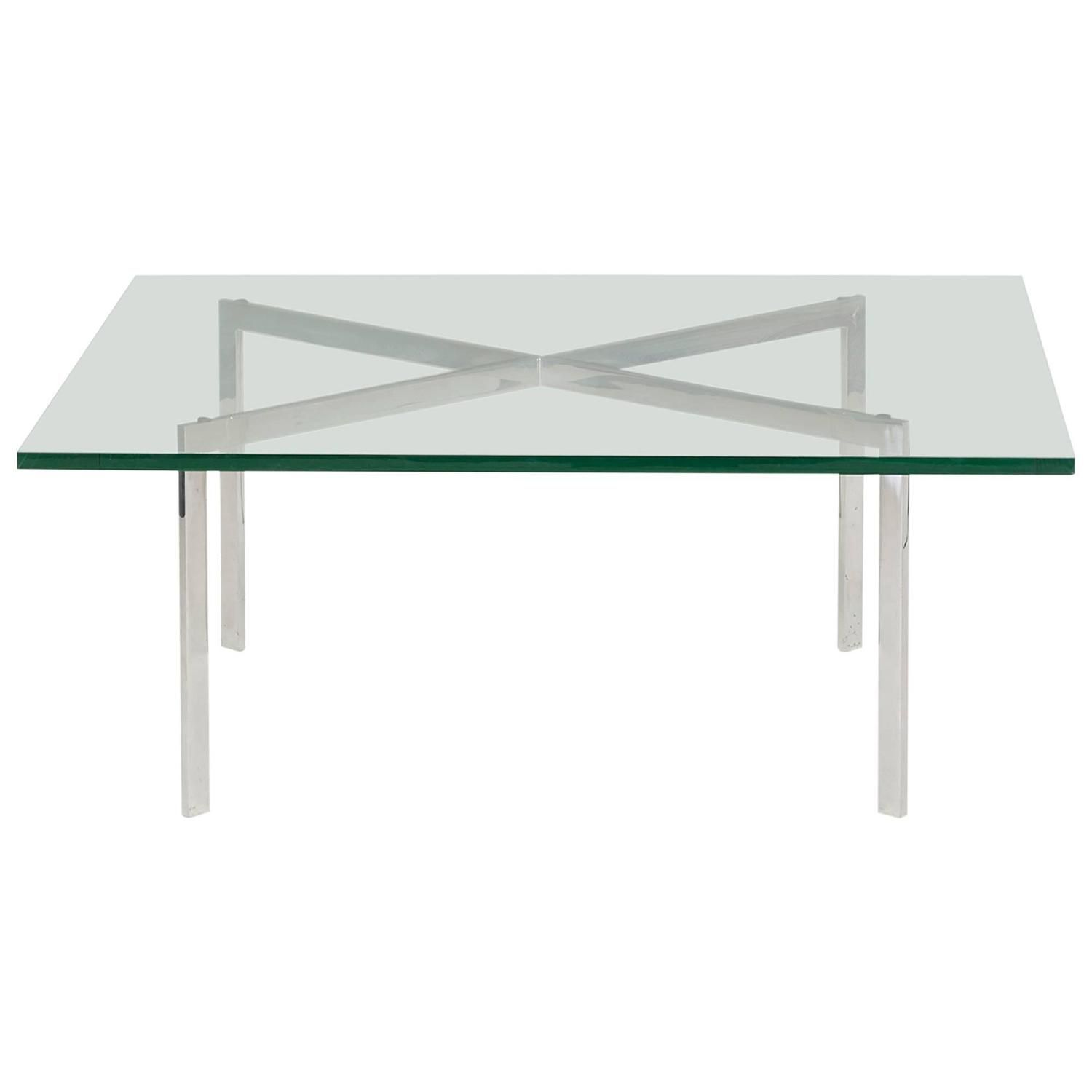 Barcelona Coffee Table By Ludwig Mies Van Der Rohe For Gerald R