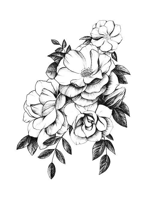 Pin by Aubrielle Serpico on Ink   Such   Pinterest   Tattoos, Flower  tattoos and Tattoo designs a7a990ca8558