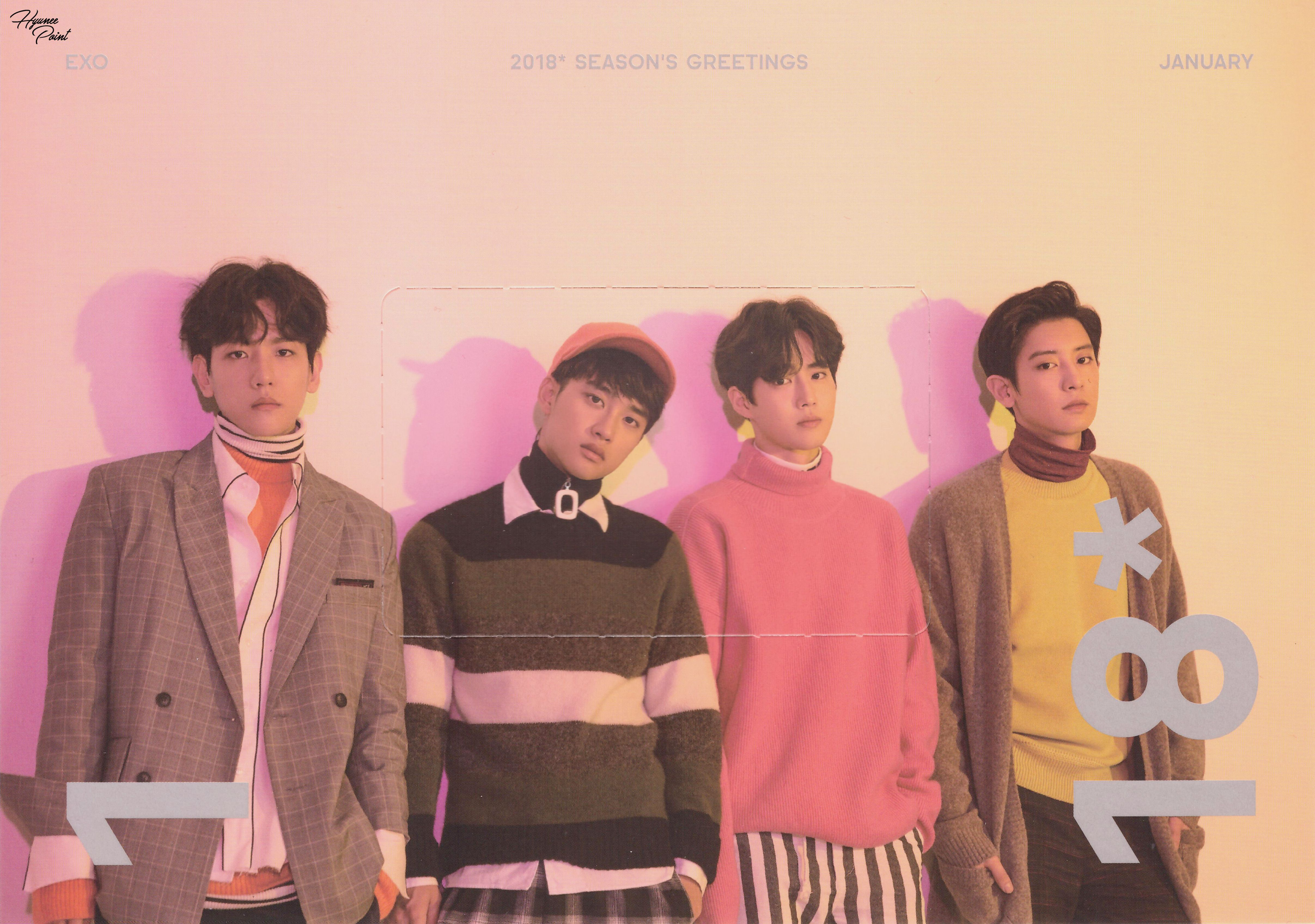 Scan seasons greetings 2018 exo chanyeol chanyeol shots baekhyun do suho chanyeol 171222 2018 seasons greetings official calendar kristyandbryce Images