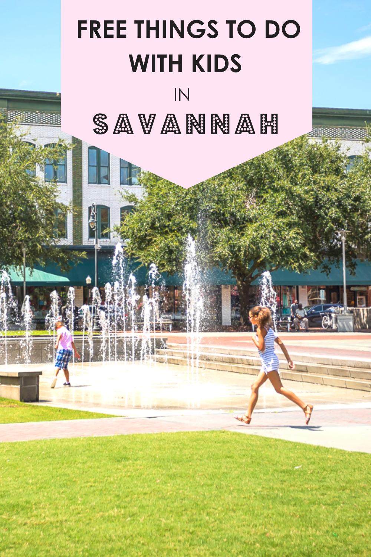 10 Free Kids Activities In Savannah Ga Savannah Chat Georgia Travel Savannah Tours