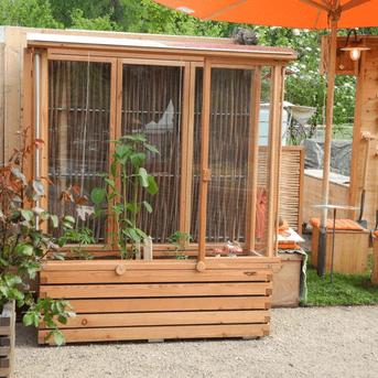 tomaten tram 150 in zwei h hen garten pinterest garten treibhaus und pflanzen. Black Bedroom Furniture Sets. Home Design Ideas