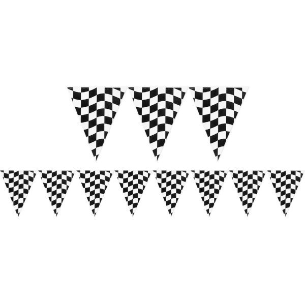 Black And White Checkered Flag Banner 12ft Blaze And The Monster Machines Party Blaze Birthday Party Cars Party Supplies