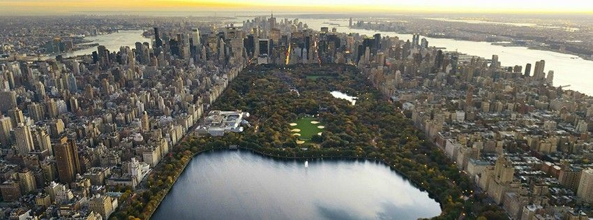 Facebook Covers 3 New York City Central Park City Wallpaper Aerial View