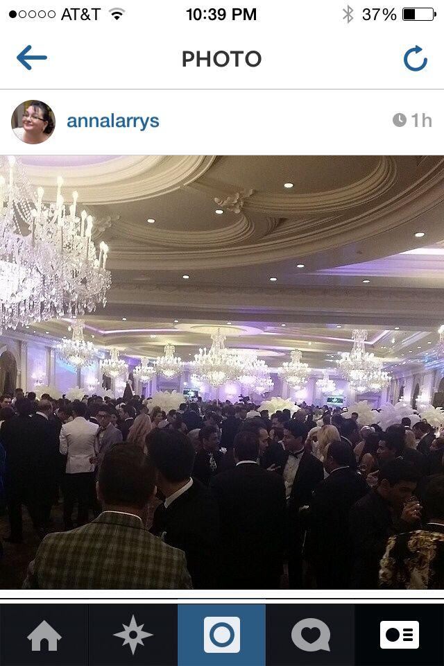 Nice little crowd.. @nenas2014