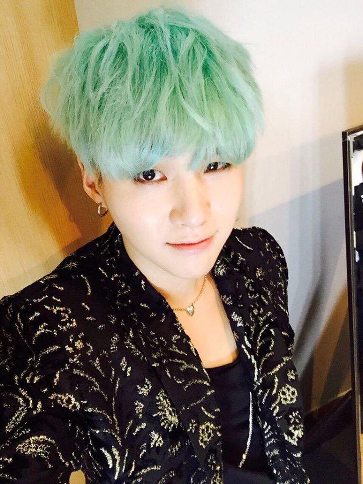 151129 BTS TWITER Kpop HairHair ColorMin