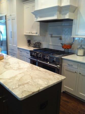 calcutta granite Dallas Countertops