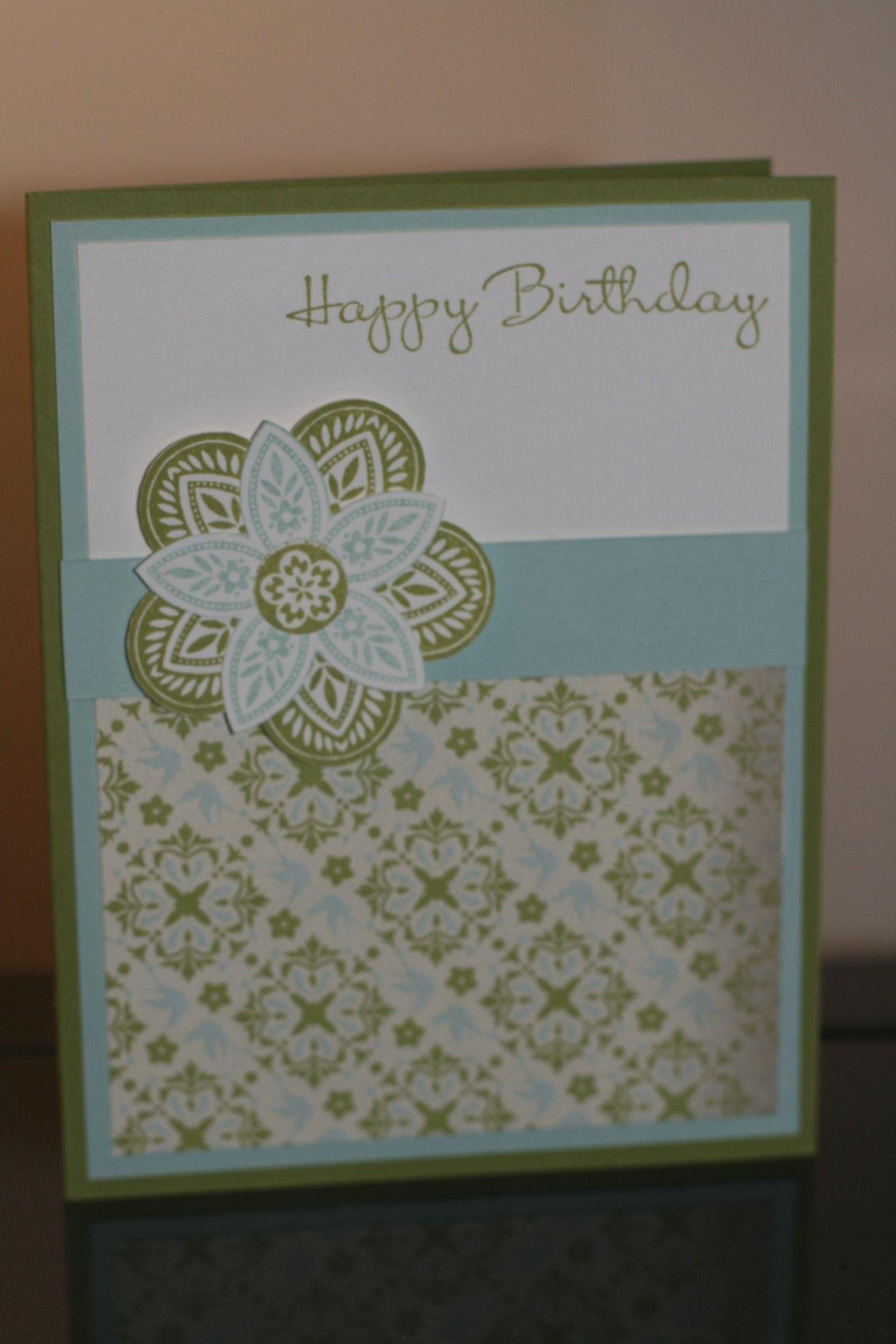 Triple treat flower birthday card cards triple treat flower