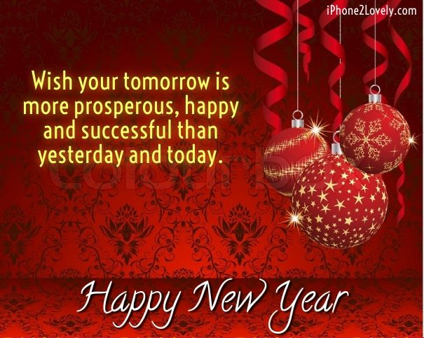 business new year wishes and greetings