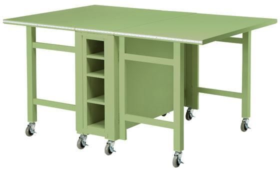 Martha Stewart Living Craft Space Collapsible Craft Table In