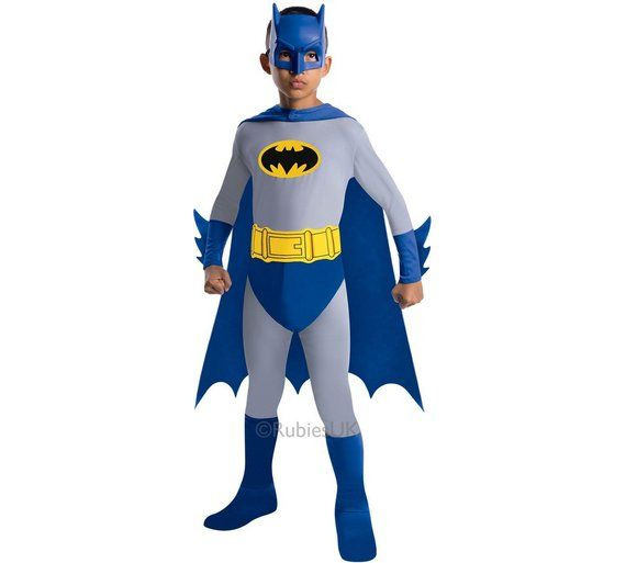 Batman The Brave and the Bold Child Halloween Costume Boyu0027s Size Large Multicolor  sc 1 st  Pinterest & Buy Batman Brave and the Bold Costume Large at Argos.co.uk visit ...