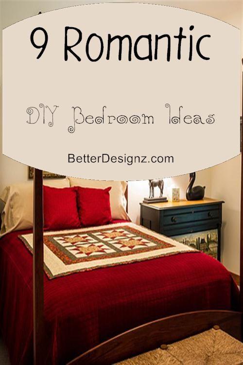 9 romantic diy bedroom ideas read more - Diy Romantic Bedroom Decorating Ideas