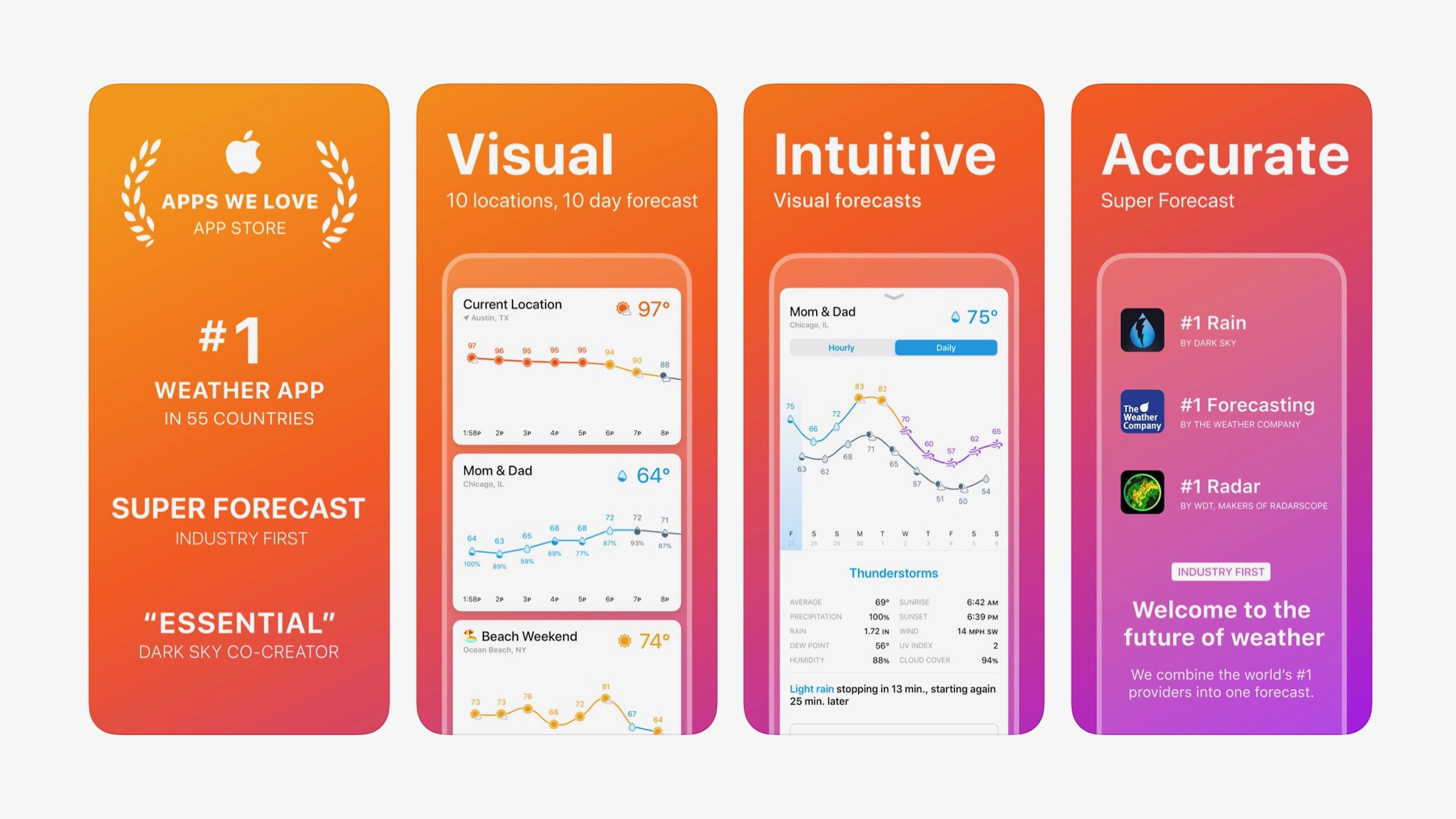 Weather Line 2 builds on data rich app with new design, 4