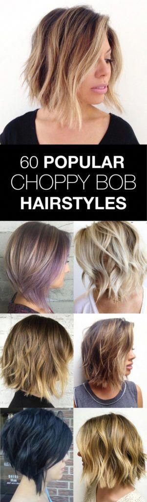 20 Modern Ways to Style a Long Bob with Bangs | Choppy bob hairstyles, Choppy bob, Bob hairstyles