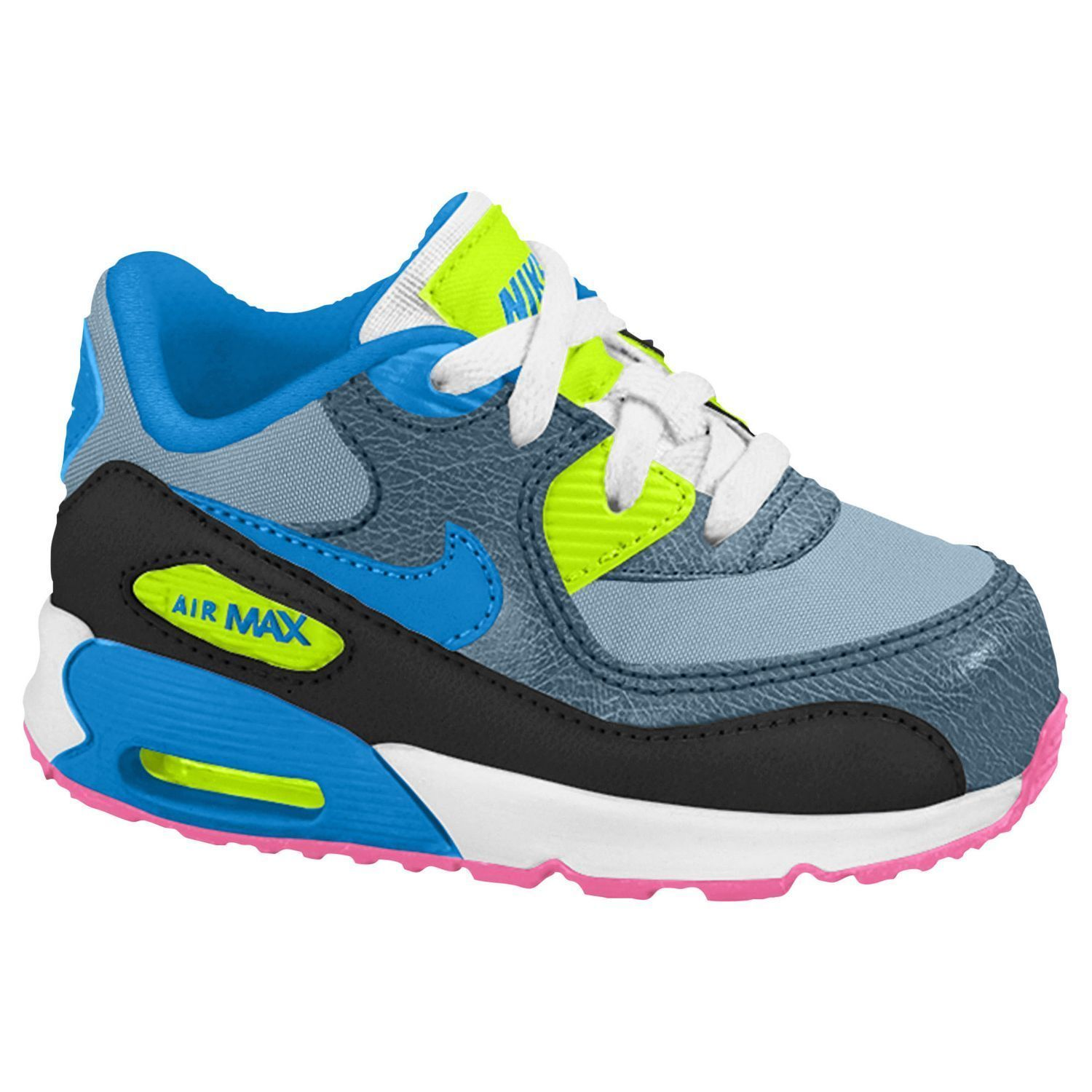 Baby boys nike air max 90 running shoes toddler size 4 nib