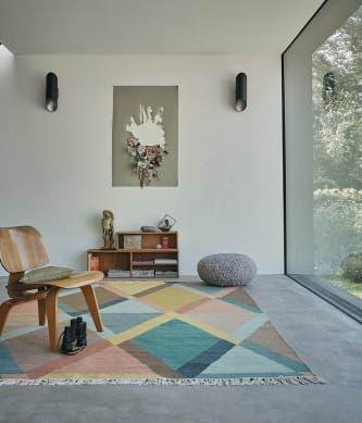 Handwebteppich Kashba Jewel Bunt   Wintergarten   Wohnzimmer ...