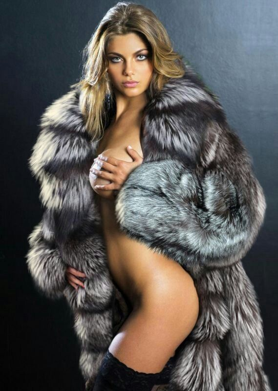 russian fur coat naked