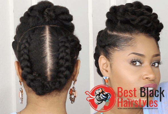 Everyday Styles 4 Best Easy Protective Natural Hairstyle Hair Styles Natural Hair Styles Cool Hairstyles