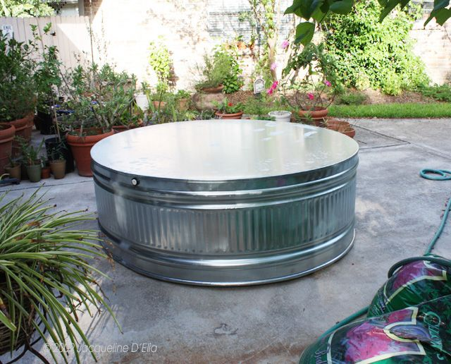 Love Stock Tank Pond Raised Bed Swimming Pool Table