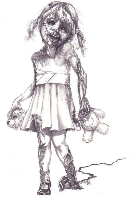 Zomb Girl Zombie Drawings Zombie Girl Zombie Girl Tattoos