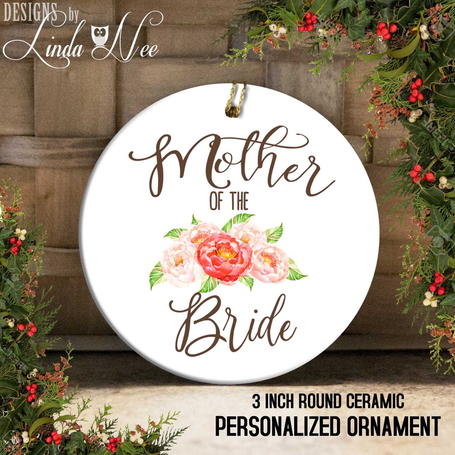 Mother of the bride gift mother of the bride ornament do it personalized happiness is being a grandmother christmas ornament baby reveal ornament baby reveal gift grandmother mothers day solutioingenieria Gallery