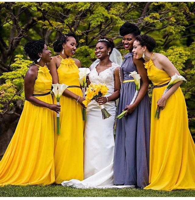 Nigerian Wedding Bridesmaids: Beautiful Bridesmaid