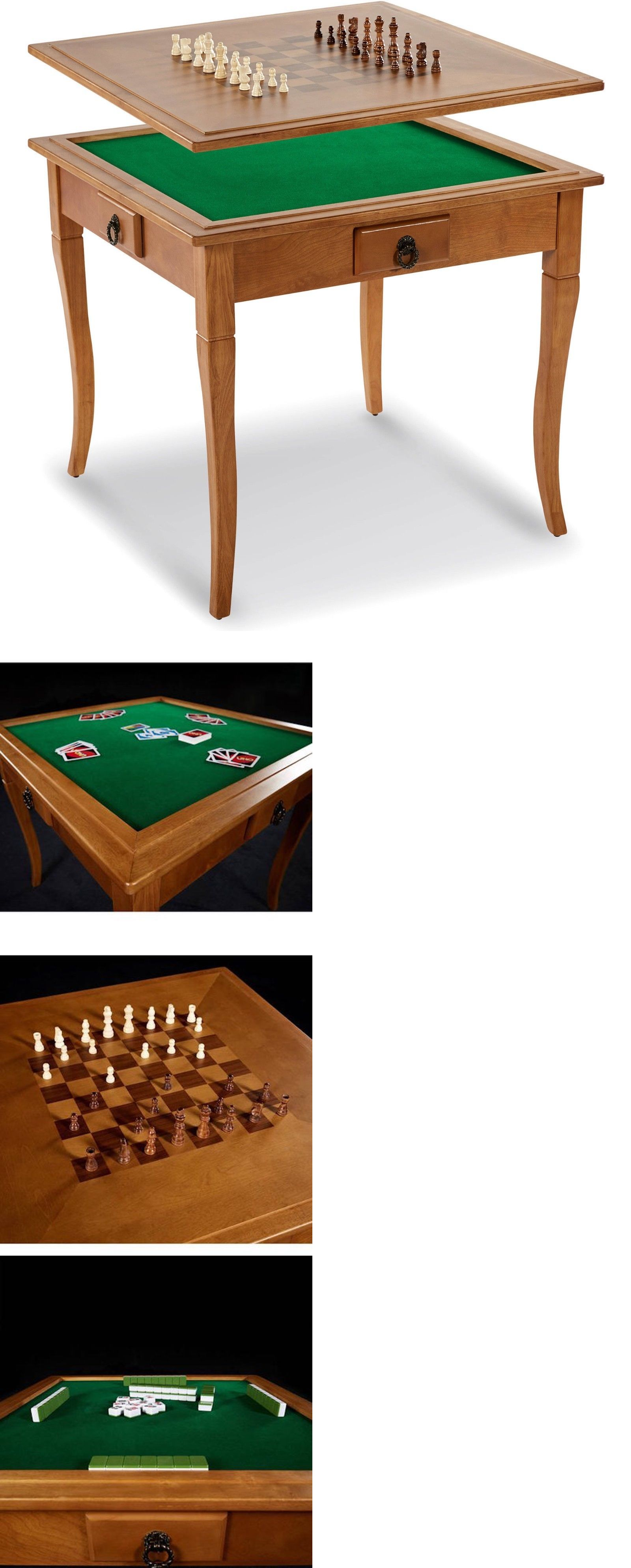 Card Tables And Tabletops 166572 Md Sports Solid Wood Gaming