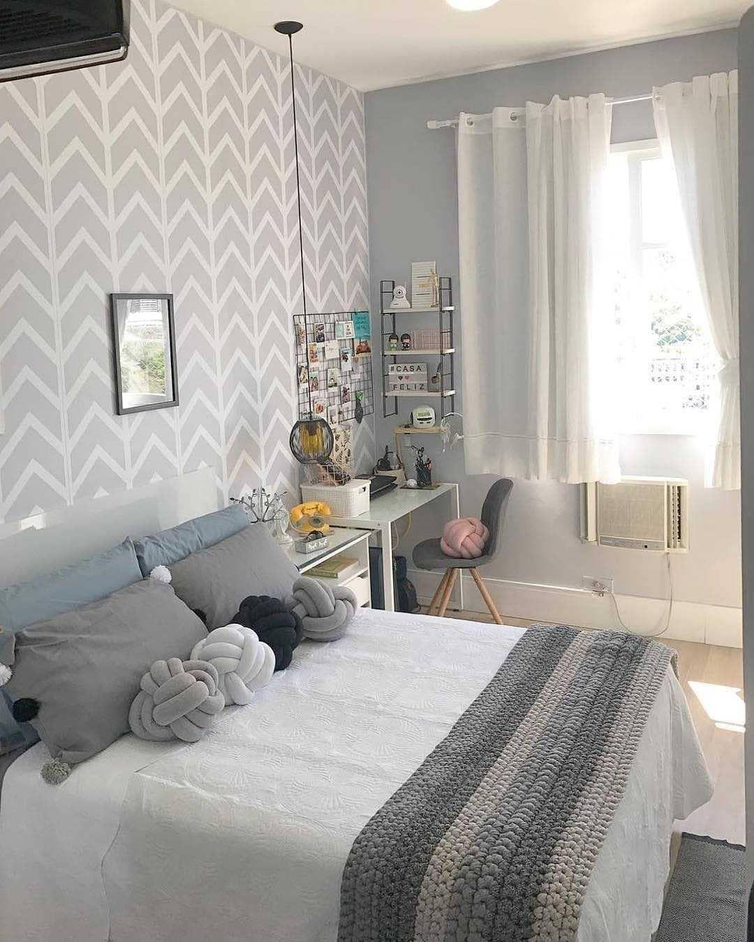 Pin de a9 en deco dormitorio deco decoracion recamara y - Decoracion habitacion individual ...