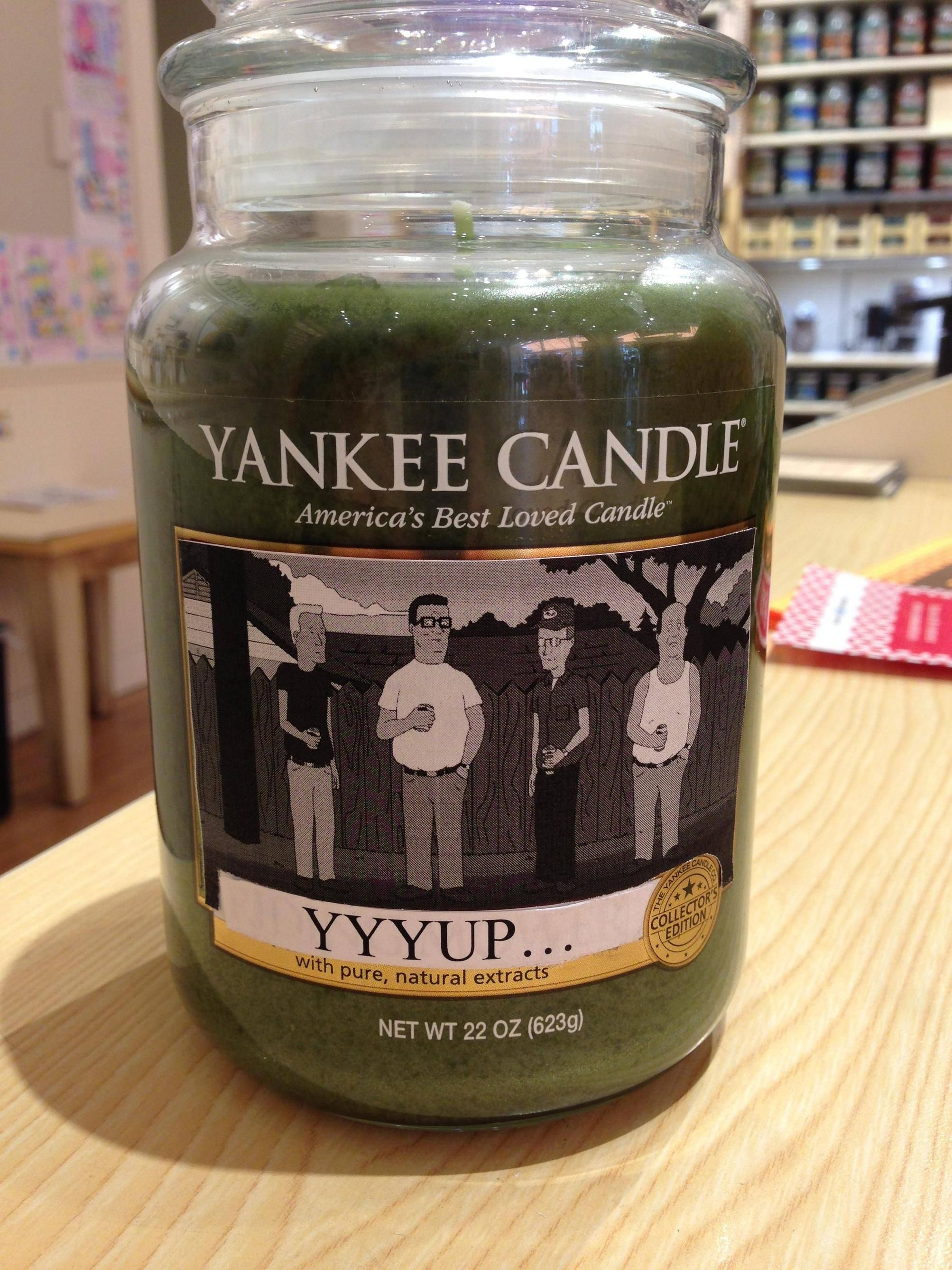 So my friend works at Yankee Candle... - Album on Imgur
