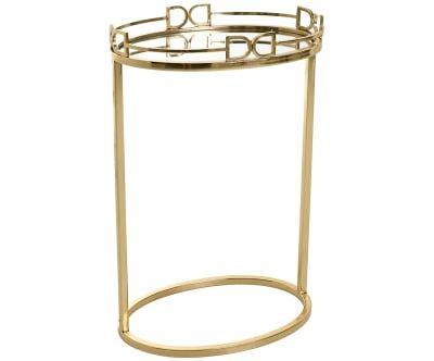 Mesa auxiliar Lory, dorado - altura 60 cm | Glam, Glam, el look más ...
