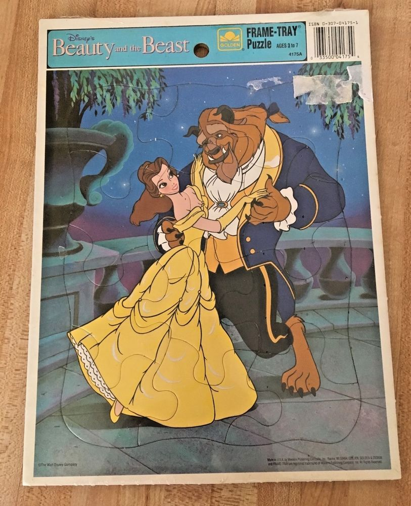 WALT DISNEY'S Beauty and the Beast GOLDEN FRAMETRAY