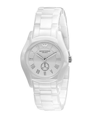 Emporio Armani Watch Women S White Ceramic Bracelet Ar1405 Women S Watches Jewelry Watches Emporio Armani Emporio Armani Ladies Watches Armani Watches