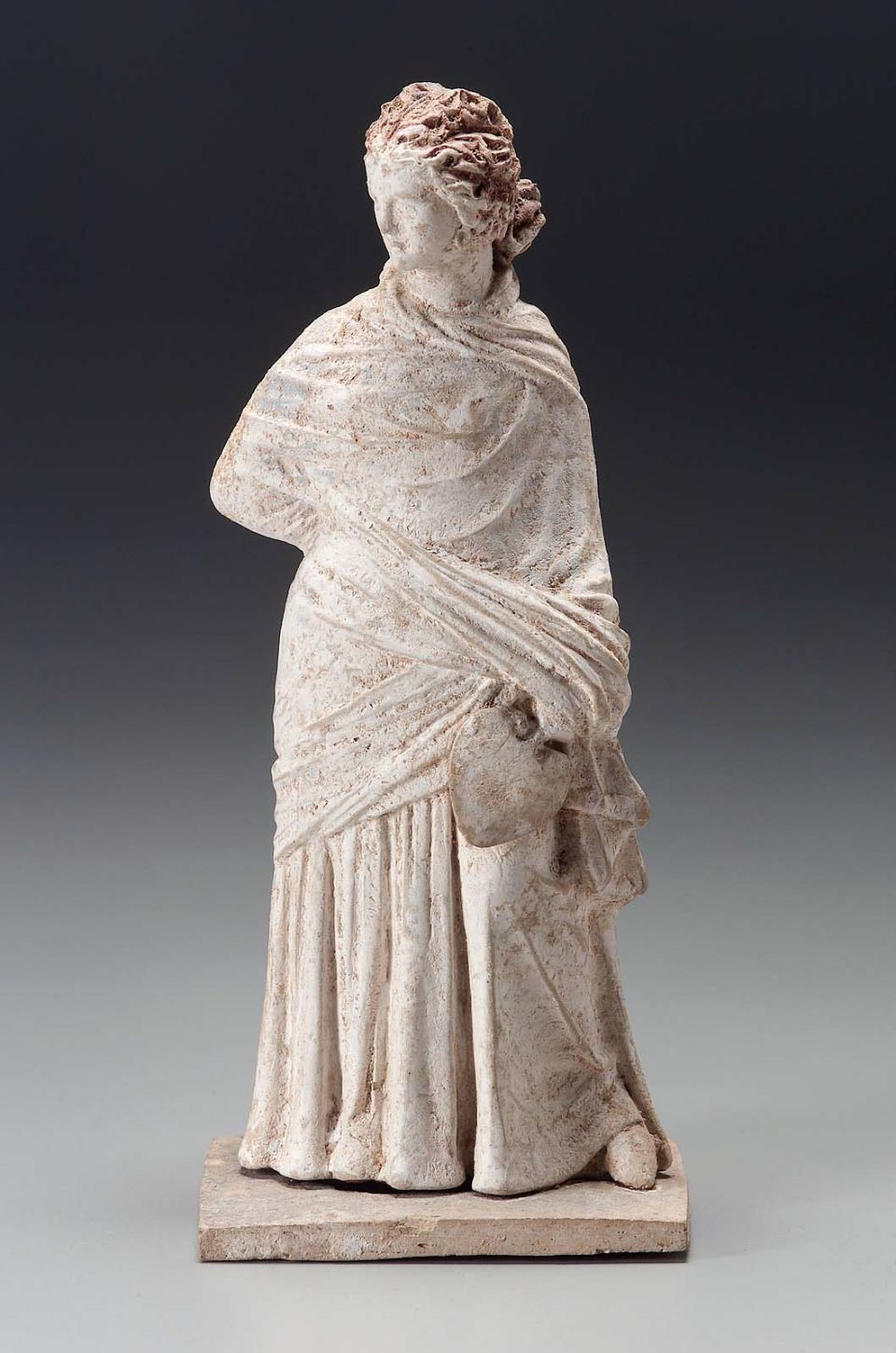 Woman Holding A Fan Greek Classical Period About 5th Century B C Place Of Manufacture Tanagra Boiotia Greece Classical Period Ancient Greece Minoan