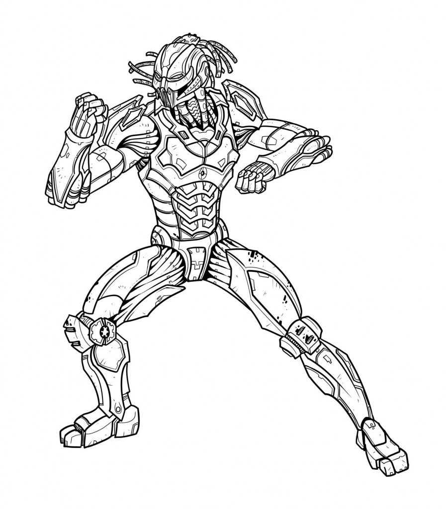 Free Printable Mortal Kombat Coloring Pages For Kids Coloring