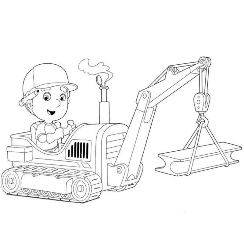 Coloriage engins de engin de travail pinterest chantier construction et - Coloriage de grue de chantier ...