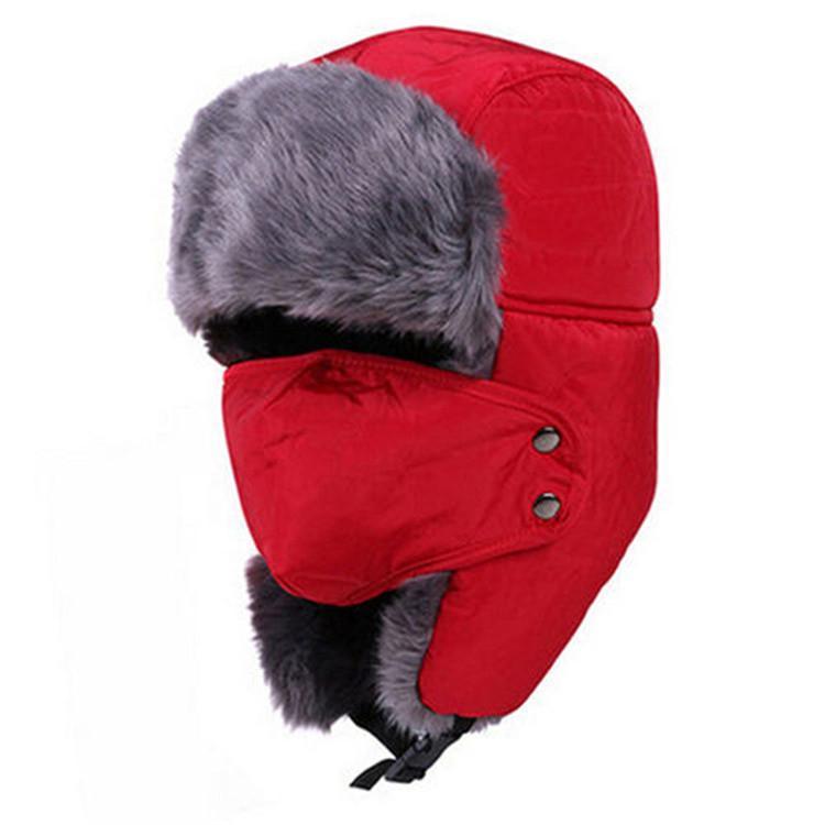 fa4a7a015086b Winter Warm Hats Russian Trapper Sport Snow Ski Hat Cap