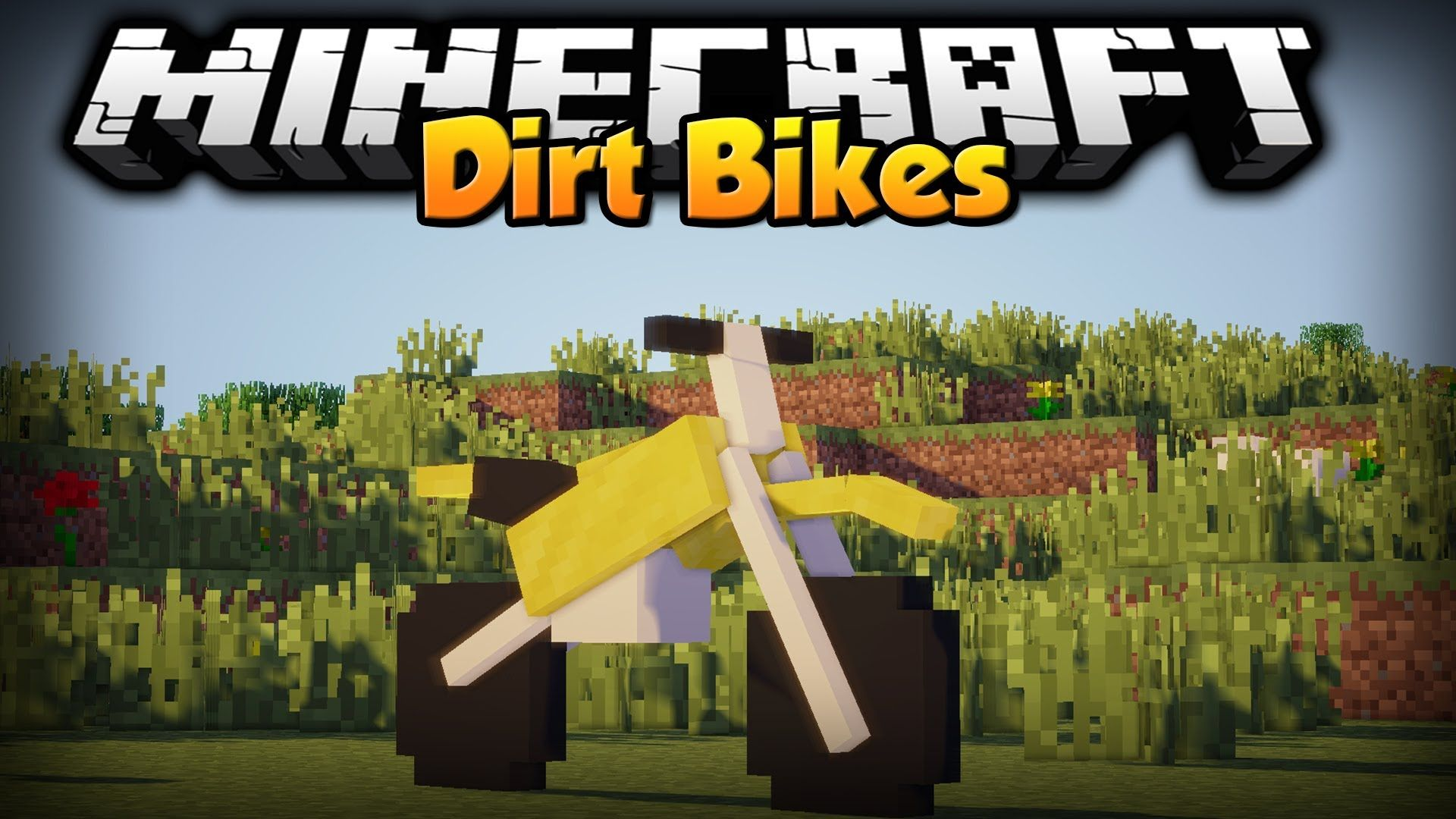 Minecraft Mod Showcase Dirtbikes Vid Fanatic Minecraft Mods Minecraft Dirtbikes
