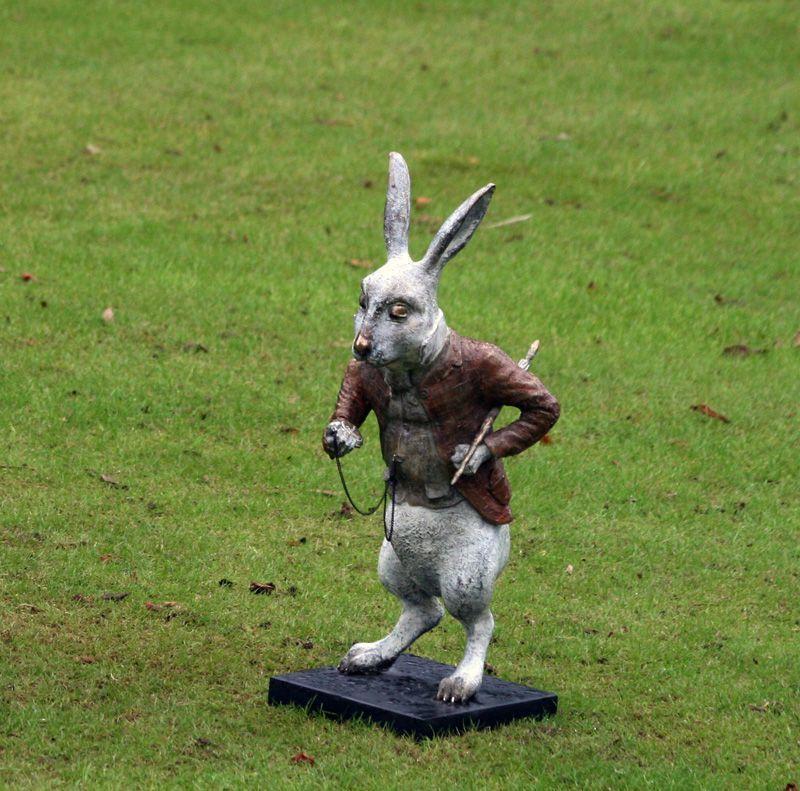 White rabbit by Wonderland   Irish Art