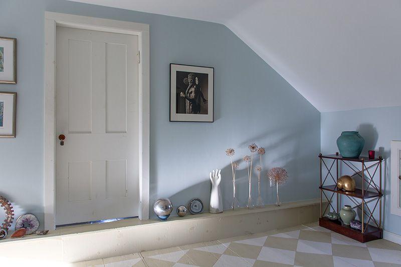 Best Soft Blue Gray Walls Are Farrow Ball Borrowed Light 400 x 300
