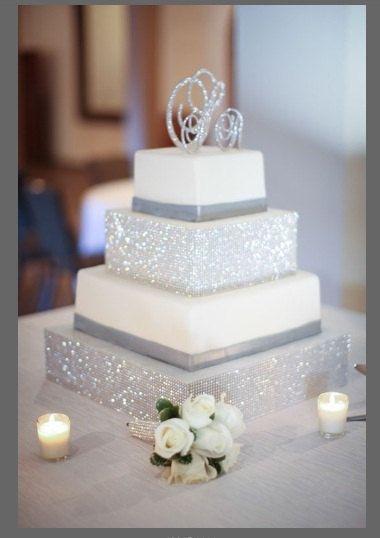 Monogram Cake Toppers Swarovski Crystal By Panachebride 184 00