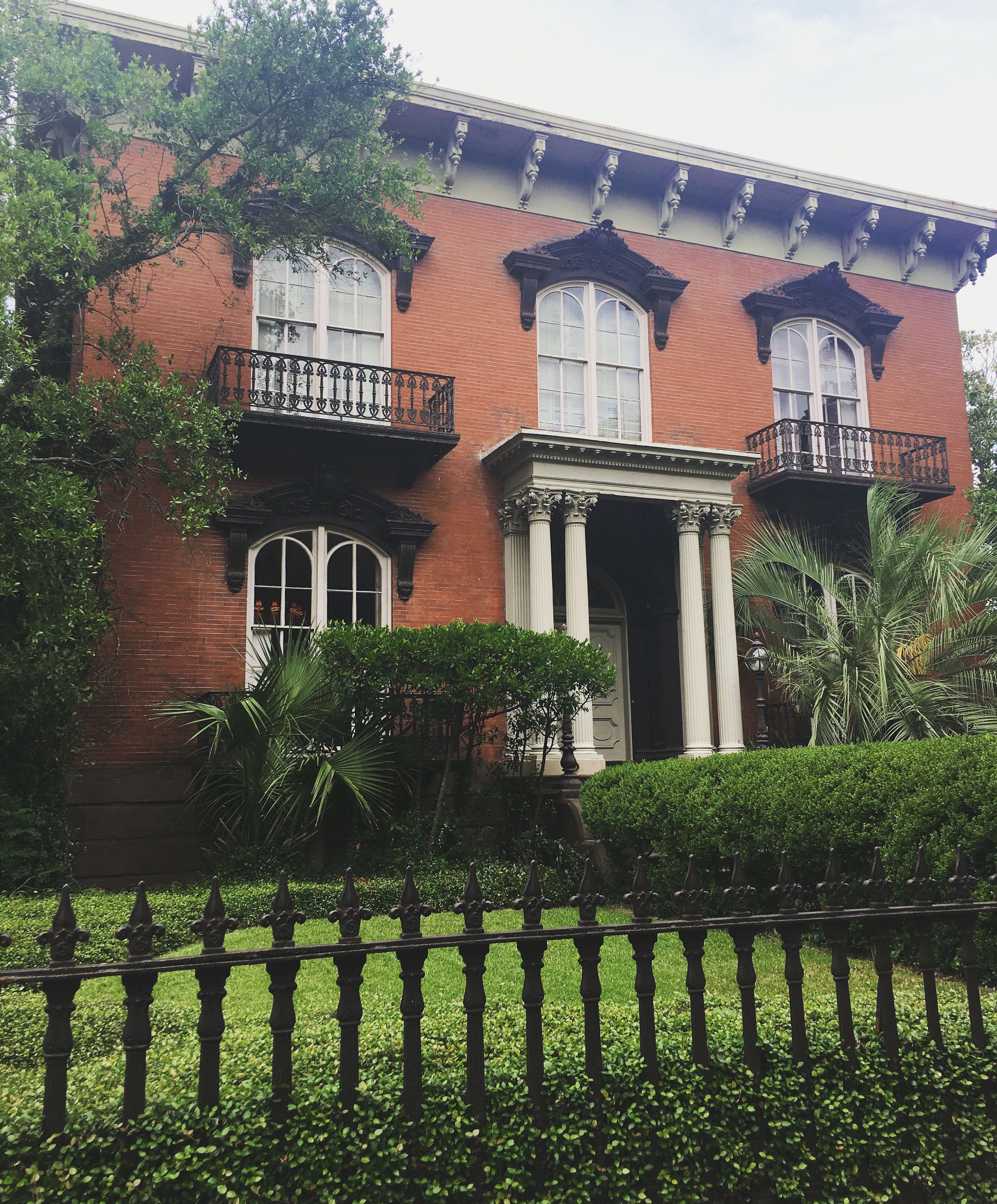 Mercer William House in Savannah, GA