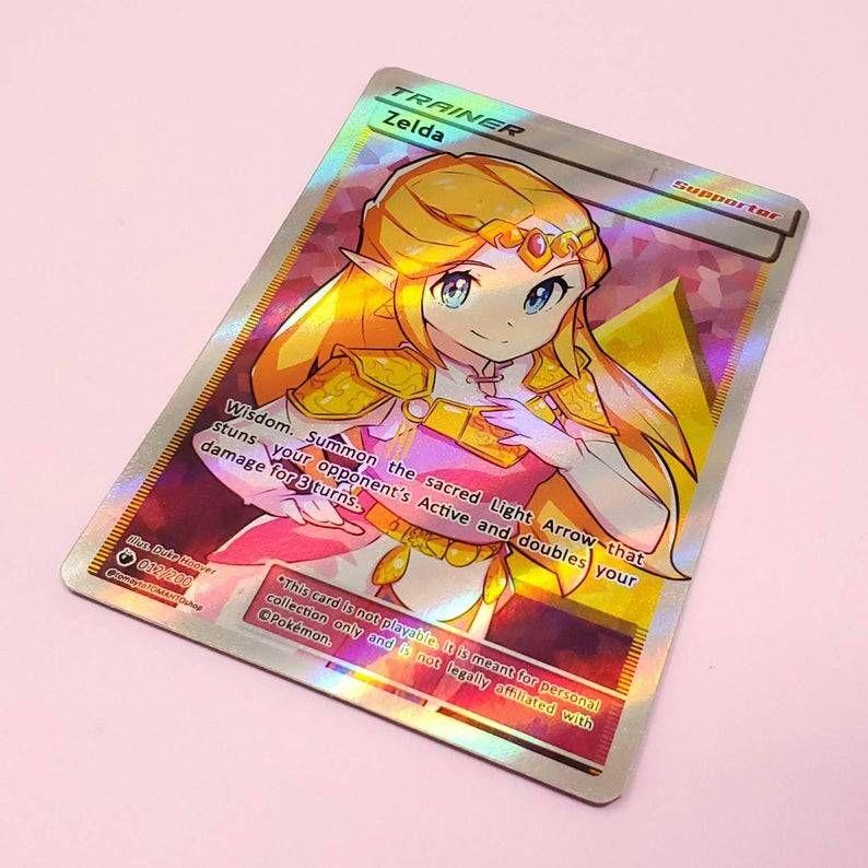 Legend of Zelda Pokemon Cards made bytomaytotomahtoshop -