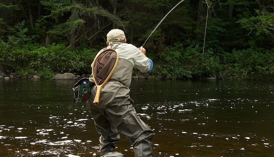 Fish on there is some great fly fishing in northern maine for Maine fly fishing