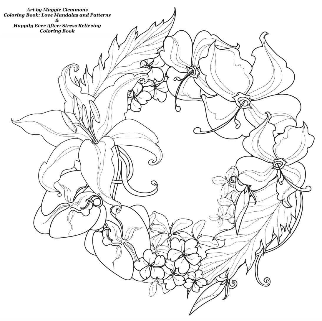 free coloring pages from coloring worldwide art by maggie